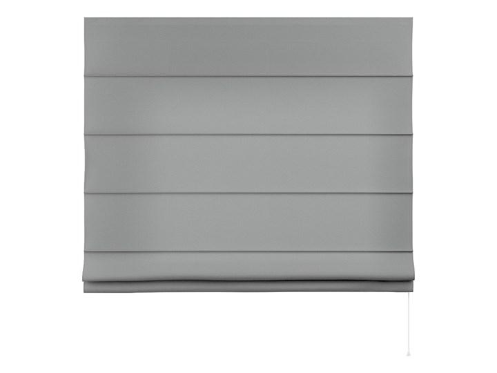 Roleta rzymska Capri, szary, szer.80 × dł.170 cm, Loneta Pomieszczenie Salon