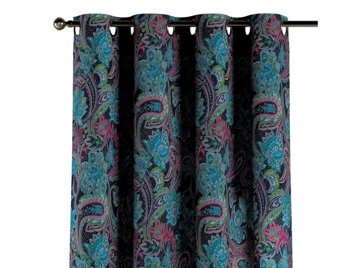 Zasłona na kółkach 1 szt., wielokolorowy paisley, 1szt 130 × 260 cm, Velvet Pomieszczenie Sypialnia Zasłona prześwitująca 130x260 cm Wzór Kwiaty