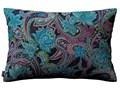 Poszewka Kinga na poduszkę prostokątną, wielokolorowy paisley, 60 × 40 cm, Velvet 45x65 cm Prostokątne Poliester Poszewka dekoracyjna Wzór Abstrakcyjny 40x60 cm Pomieszczenie Salon