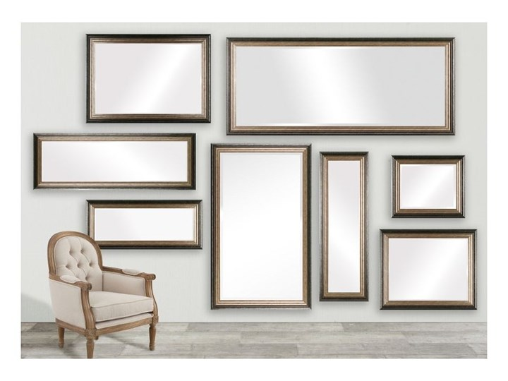 Lustro Romane 46x107cm, 46 × 107 cm Kategoria Lustra Prostokątne Ścienne Lustro z ramą Pomieszczenie Garderoba