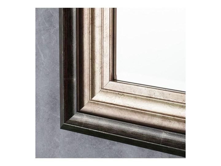 Lustro Romane 46x107cm, 46 × 107 cm Lustro z ramą Ścienne Prostokątne Kolor Złoty