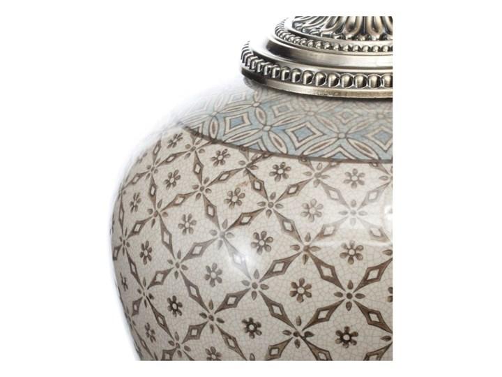 Waza ceramiczna Shiho z pokrywką 36cm, 36 cm Metal Ceramika Kategoria Wazony
