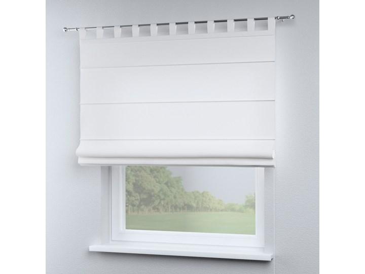 Roleta rzymska Verona, śmietankowa biel, szer.80 × dł.170 cm, Loneta Pomieszczenie Salon