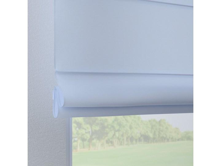 Roleta rzymska Verona, pastelowy niebieski, szer.80 × dł.170 cm, Loneta Typ Roleta transparentna Pomieszczenie Salon
