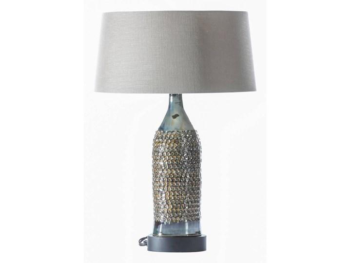 Lampa stołowa Royal Green wys. 67cm, 45 × 45 × 67 cm Kolor Szary Lampa z kloszem Kategoria Lampy stołowe