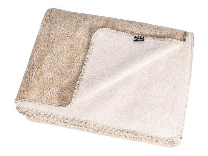 Koc Cotton Cloud 150x200cm Ecru&Light Beige, 150 x 200 cm Akryl Wzór Jednolity 150x200 cm Bawełna Kategoria Koce i pledy