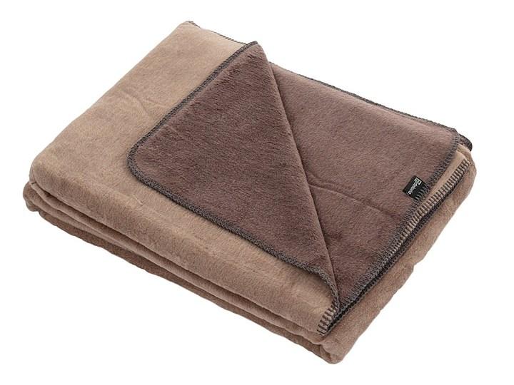 Koc Cotton Cloud 150x200 Sepia&Espresso, 150 x 200 cm Akryl 150x200 cm Bawełna Kolor Brązowy Kategoria Koce i pledy