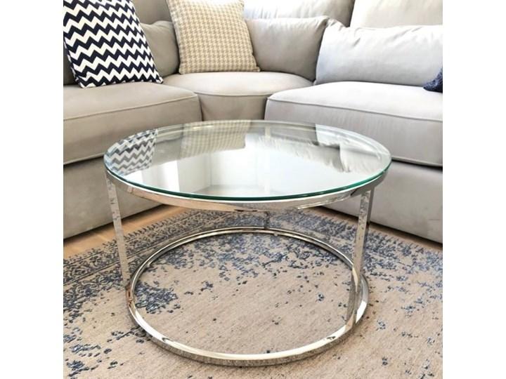 Stolik kawowy szklany do salonu RONALD