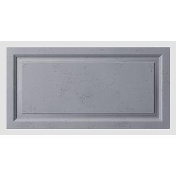 120x60x3 cm VT - PB33a  (B8 antracyt) Rama - panel dekor 3D beton architektoniczny