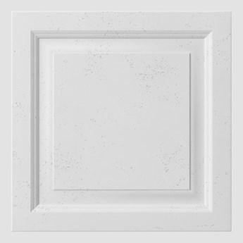 60x60x3 cm VT - PB33b  (B1 siwo biały) Rama - panel dekor 3D beton architektoniczny