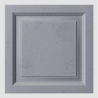 60x60x3 cm VT - PB33b  (B8 antracyt) Rama - panel dekor 3D beton architektoniczny
