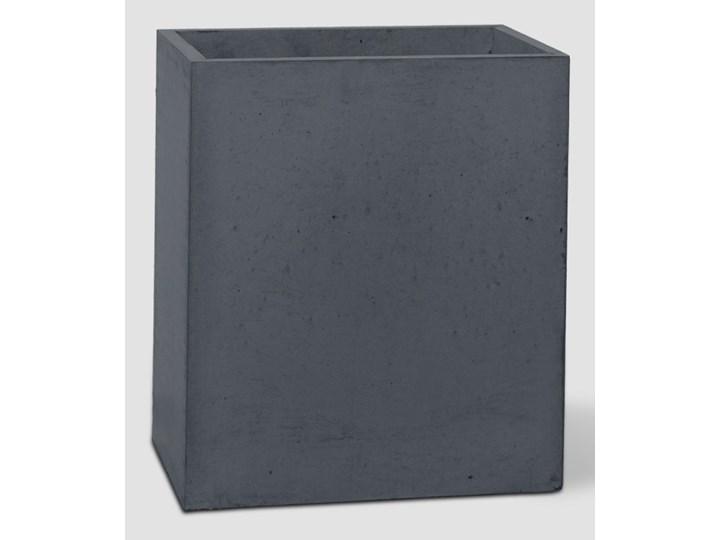 31x25x30 cm Donica betonowa (antracyt) Donica ogrodowa Donica balkonowa Kolor Szary