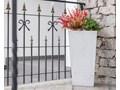 31x25x30 cm Donica betonowa (antracyt) Kolor Szary Donica ogrodowa Donica balkonowa Kategoria Donice ogrodowe