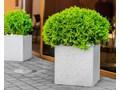 31x25x30 cm Donica betonowa (antracyt) Donica ogrodowa Kolor Szary Donica balkonowa Kategoria Donice ogrodowe