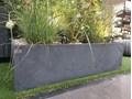 31x25x93 cm Donica betonowa (antracyt) Donica ogrodowa Donica balkonowa Kolor Szary