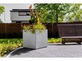 90x22x40 cm Donica betonowa (biała) Donica ogrodowa Donica balkonowa Kategoria Donice ogrodowe