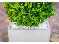 90x22x40 cm Donica betonowa (biała) Donica ogrodowa Donica balkonowa Kolor Szary