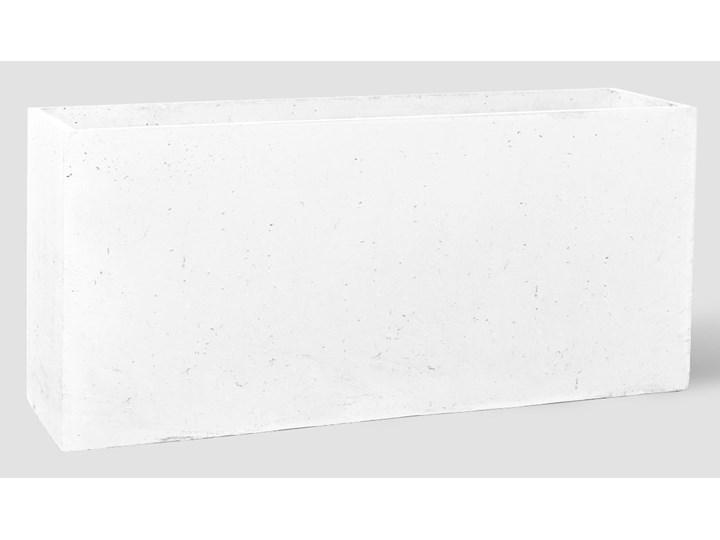 90x22x40 cm Donica betonowa (biała) Donica balkonowa Donica ogrodowa Kategoria Donice ogrodowe Kolor Szary