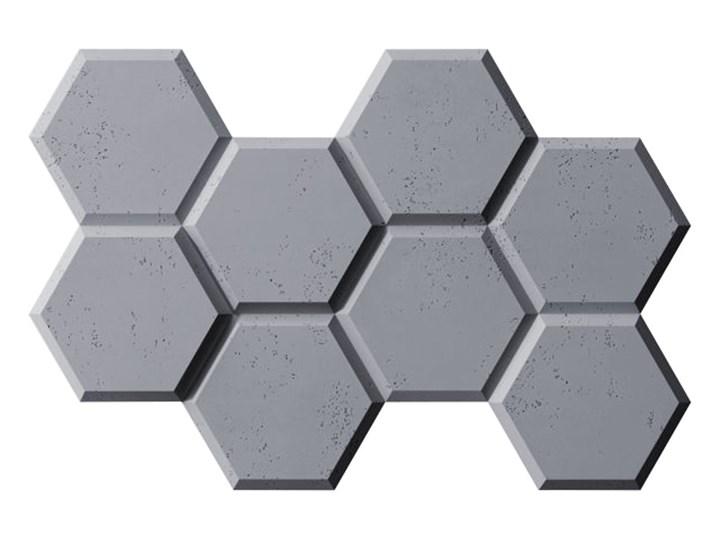 97,5x65x3,5 cm VT - PB01  (B8 antracyt) HEKSAGON - panel dekor 3D beton architektoniczny Kategoria Panele 3D