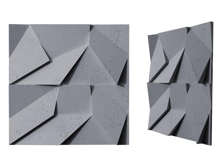 60x60x3,8 cm VT - PB06  (B8 antracyt) ORIGAMI - panel dekor 3D beton architektoniczny Kategoria Panele 3D
