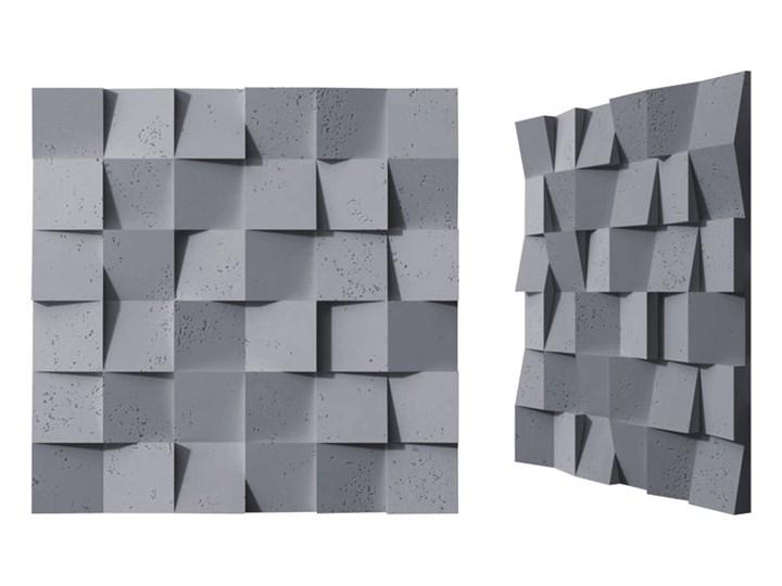 60x60x3 cm VT - PB15  (B8 antracyt) COCO - panel dekor 3D beton architektoniczny Kategoria Panele 3D
