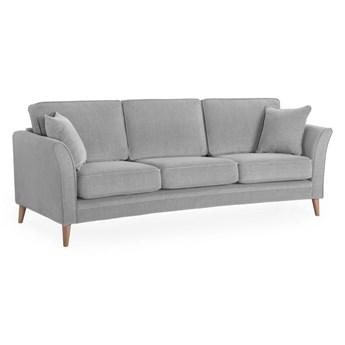 Jasnoszara sofa Scandic Luiza