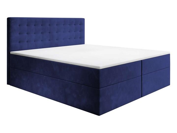 Łóżko kontynentalne 160x200 BARI / z pojemnikiem
