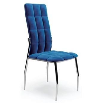 Krzesło K416 Velvet Granatowy Halmar