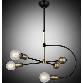Lampa wisząca vintage patyna 1473-73-03 REPA SALON SYPIALNIA JADALNIA LUCEA STL