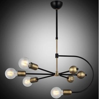 Lampa wisząca vintage patyna 1473-73-04 REPA SALON SYPIALNIA JADALNIA LUCEA STL