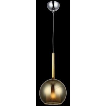 Nowoczesna szklana lampa wisząca złoto 1481-51-01-GD FANZA SALON SYPIALNIA JADALNIA LUCEA STL