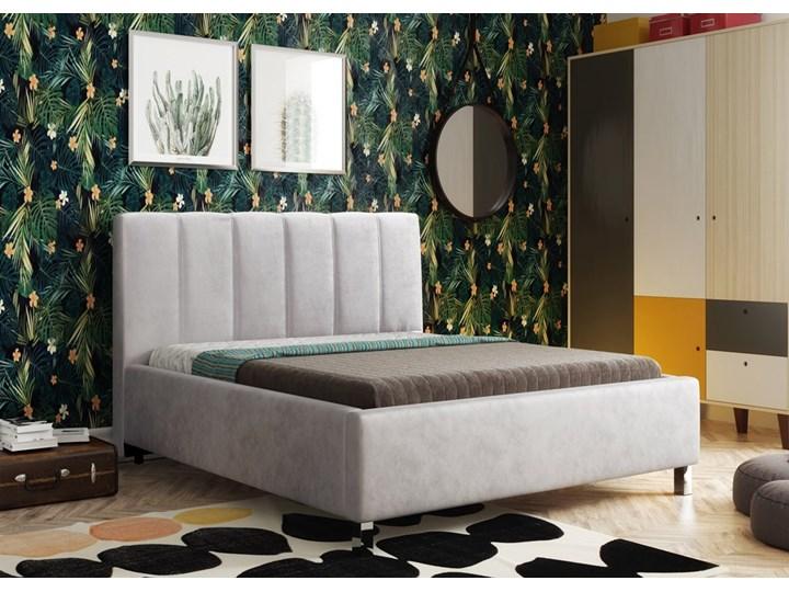 Łóżko Polo tapicerowane z pojemnikiem Łóżko tapicerowane Rozmiar materaca 160x200 cm