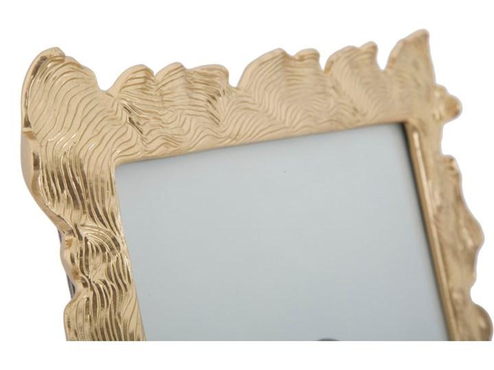 Ramka na zdjęcie w kolorze złota z motywem fal Mauro Ferretti, 27x31,5 cm Kolor Szary Ramka na zdjęcia Kategoria Ramy i ramki na zdjęcia