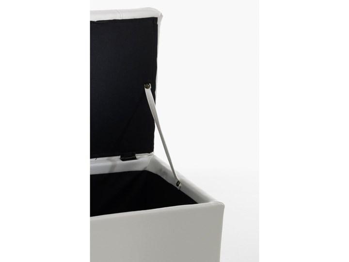 Biała ławka ze schowkiem Tomasucci Nice Skrzynia Kategoria Ławki do salonu Pikowana Pomieszczenie Sypialnia