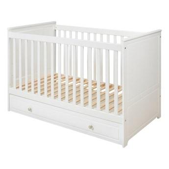 Białe łóżeczko dziecięce BELLAMY Marylou, 60x120 cm
