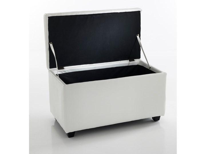 Biała ławka ze schowkiem Tomasucci Nice Pomieszczenie Sypialnia Skrzynia Pikowana Kategoria Ławki do salonu