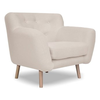 Beżowy fotel Cosmopolitan design London