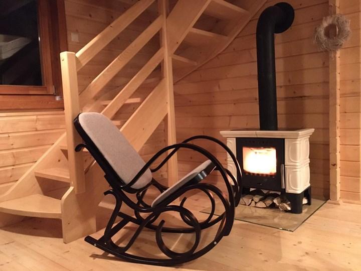 Fotel bujany  Max Bis Plus Wenge Wenge Tkanina Styl Klasyczny Drewno Pomieszczenie Salon