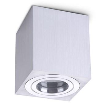 Aquarius Square IP44 lampa sufitowa srebrna do łazienki