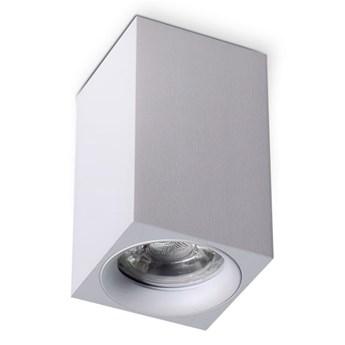 Mango Square lampa sufitowa 1-punktowa biała