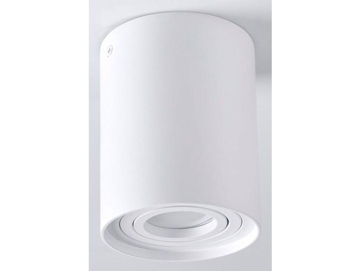 Hadar lampa sufitowa tuba kierunkowa 1xGU10 biała Kolor Biały Oprawa led Oprawa stropowa Kategoria Oprawy oświetleniowe