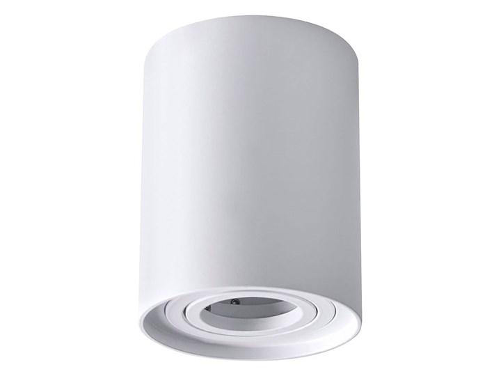 Hadar lampa sufitowa tuba kierunkowa 1xGU10 biała Oprawa led Oprawa stropowa Kolor Biały
