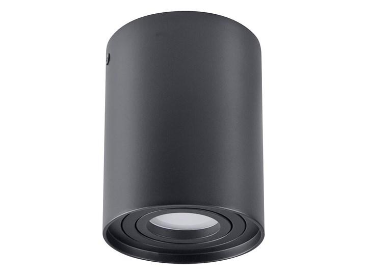 Hadar lampa sufitowa tuba kierunkowa 1xGU10 czarna Oprawa led Kolor Czarny Oprawa stropowa Kategoria Oprawy oświetleniowe