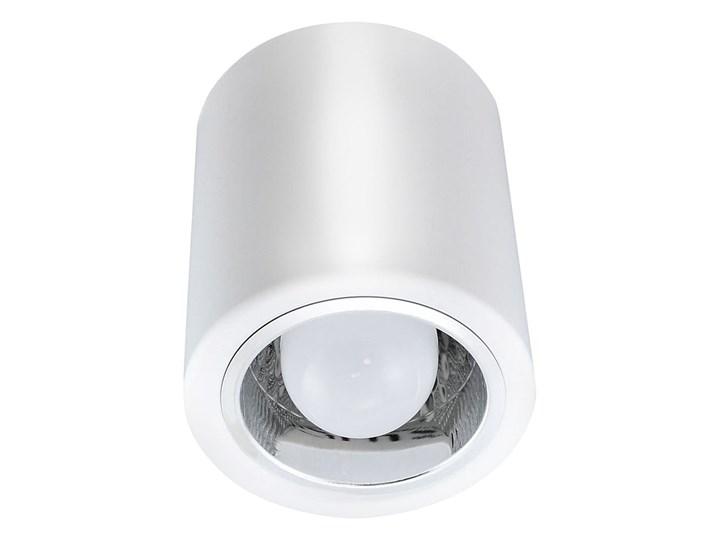 Jupiter 10 lampa sufitowa natynkowa tuba 1xE27 biała Oprawa led Oprawa stropowa Kolor Biały