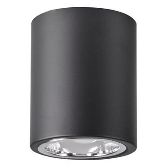 Jupiter 10 lampa sufitowa natynkowa tuba 1xE27 czarna