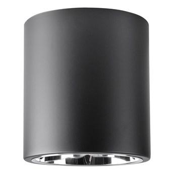 Jupiter 17 lampa sufitowa natynkowa tuba 1xE27 czarna