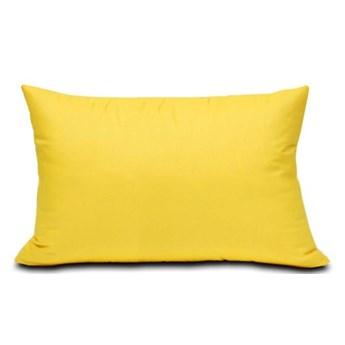 Poszewka bawełniana Semplice żółta 40x60