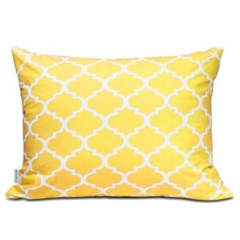 Poszewka bawełniana Maroko żółte 50x60