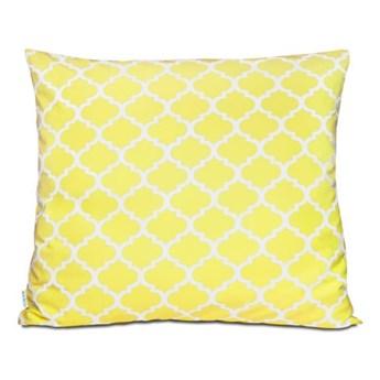 Poszewka bawełniana Maroko żółte 70x80