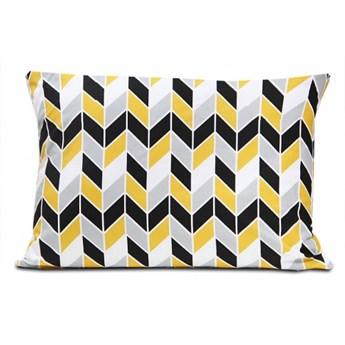 Poszewka bawełniana Geometric Yellow 40x60